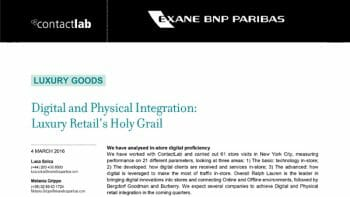 Digital Physical Integration