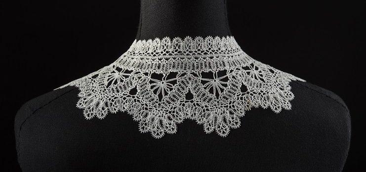 vulgar in fashion cream cottono crochet
