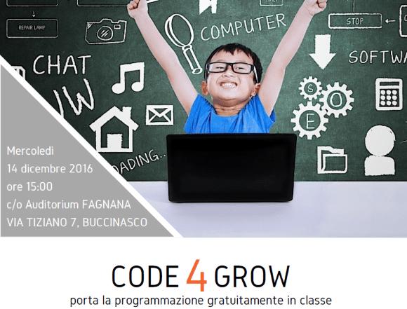 Contactlab sostiene Code4Grow