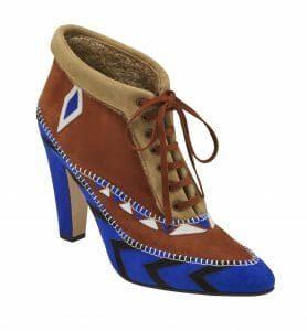 Manolo Blahnik's shoe ESKIMA -AW16
