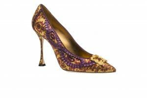 Manolo Blahnik's shoe TRADI -AW15