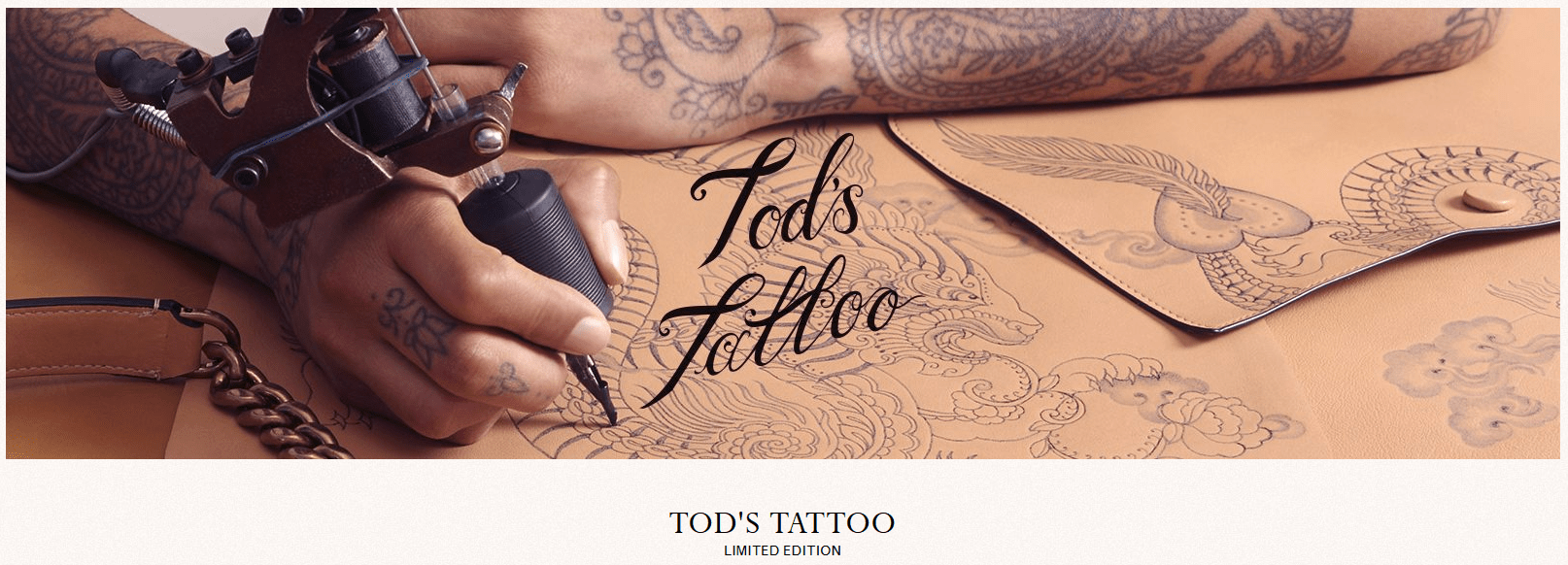 Tod's comarketing Tattoo