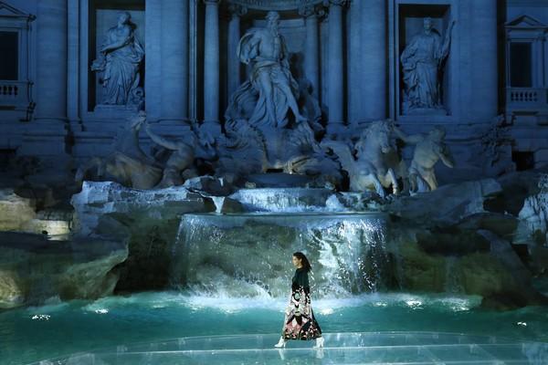 Fendi Anniversary @ Fontana di Trevi