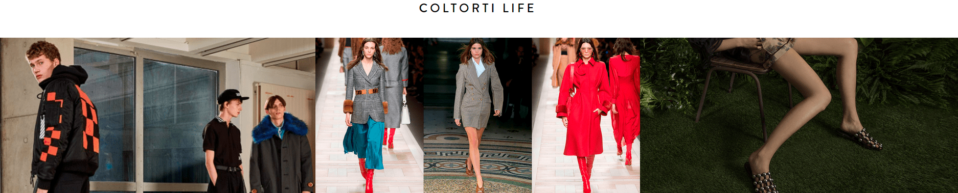 Coltorti's lifestyle products