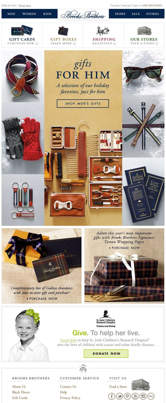 Brooks Brothers - email