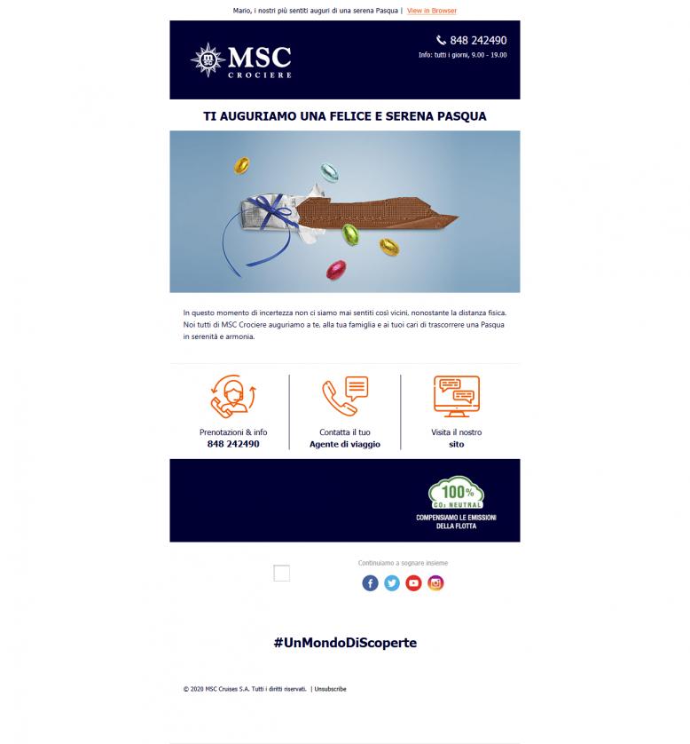 Email Pasqua MSC
