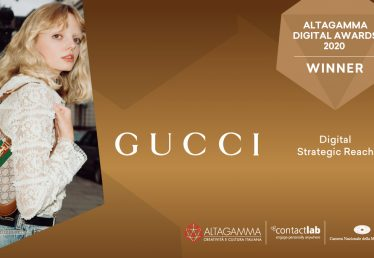 gucci winner altagamma digital awards